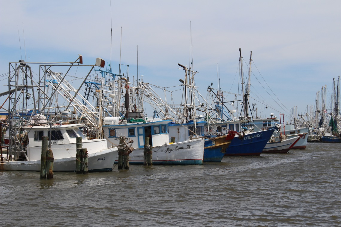 Shrimping Boats, Bay St. Louis, Mississippi