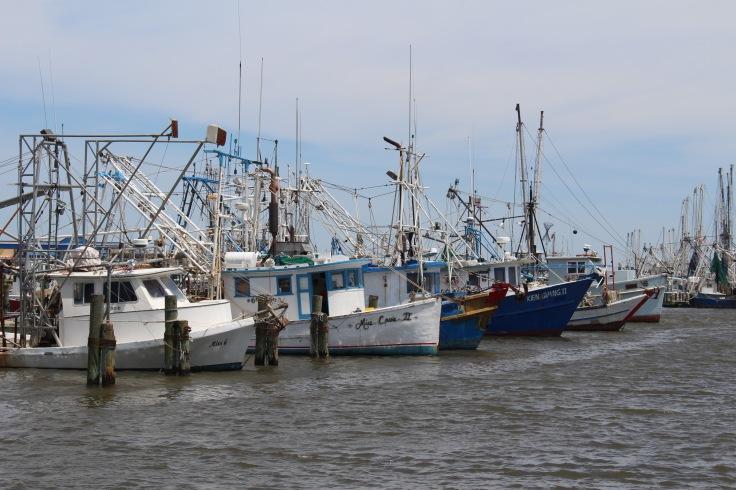 Shrimping Boats, Bay St. Louis, Mississippi