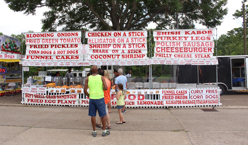 Culinary Choices Abound at the Louisiana Black Bear Festival